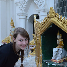 While in Myanmar, Anania visited the Shwedagon Pagoda, which is the most sacred Buddhist site for the people of the Union of Myanmar